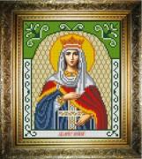 Рисунок на холсте для вышивки бисером Святая Ирина