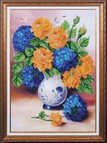 Набор для вышивки бисером Цветочная феерия