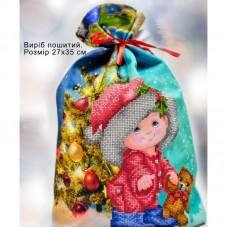 Пошитый мешочек для подарочков Новый год Biser-Art 23004