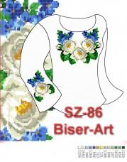 Заготовка для вышивки бисером Сорочка женская Biser-Art Сорочка жіноча SZ-86 (габардин)
