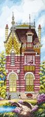 Набор для вышивания крестом Дом мечты Cristal Art ВТ-253