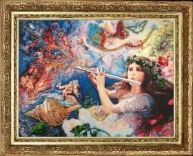 Набор для вышивки бисером Мелодия Вселенной (по картине J. Wall)