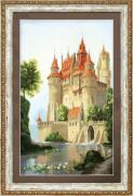 Набор для частичной вышивки крестом  Дворец для принца