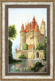 Набор для частичной вышивки крестом  Дворец для принца, , 428.00грн., РК-120, Чарiвна мить (Чаривна мить), Пейзажи