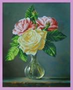 Набор для вышивки бисером Букетик роз