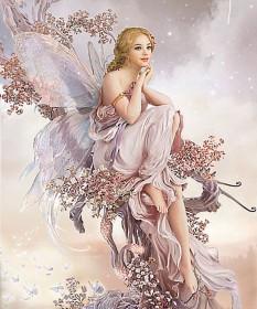 Набор для выкладки алмазной мозаикой Цветочная фея Алмазная мозаика DM-136 - 910.00грн.