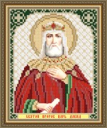 Схемы вышивки бисером на авторской канве Святой Пророк Царь Давид
