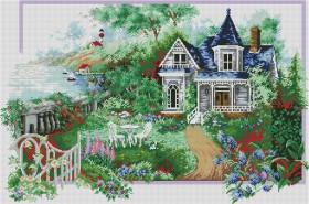 Набор для выкладки алмазной мозаикой Времена года: Лето Алмазная мозаика DM-292 - 1 400.00грн.
