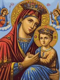 Набор для вышивки крестом Икона Божьей Матери Luca-S В428 - 739.00грн.