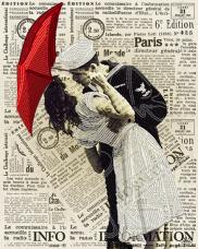 Схема  вышивки бисером на атласе Поцелуй А-строчка АК3-225