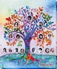 Набор для вышивки бисером на холсте Семейное дерево Абрис Арт АВ-698