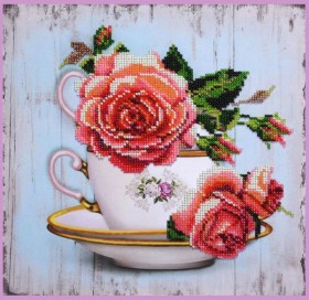 Набор для вышивки бисером Чайный дуэт 1 Картины бисером P-390 - 275.00грн.