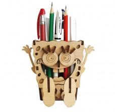 Набор деревянный конструктор для Подставка Домовичок Чарiвна мить (Чаривна мить) F-002