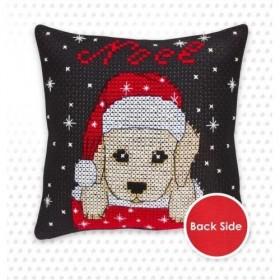 Набор подушки для вышивки крестом Собачка