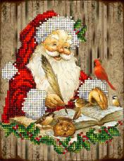 Набор для вышивки ювелирным бисером Рождественские истории 12 Краса и творчiсть 20915