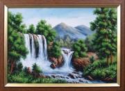 Набор для вышивки бисером Водопад в горах