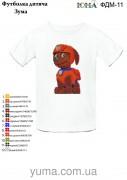 Детская футболка для вышивки бисером Зума