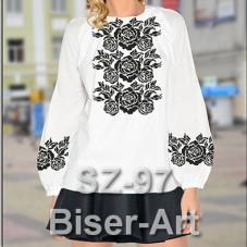 Заготовка для вышивки бисером Сорочка женская Biser-Art Сорочка жіноча SZ-97 (льон)