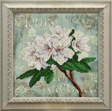 Набор для вышивки ювелирным бисером Цветы Краса и творчiсть 11115