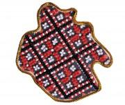 Набор - магнит для вышивки бисером Карта Украины Винницкая область