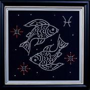 Набор для вышивки бисером Рыбы
