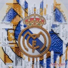 Набор-мини для вышивки бисером на натуральном художественном холсте ФК Реал Мадрид Абрис Арт АМ-209 - 103.00грн.