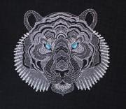 Набор для вышивки крестом Белый тигр