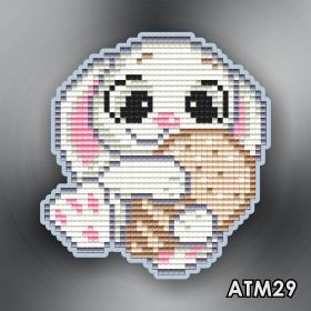 Магнит для выкладки алмазной мозайкой Зайка Art Solo АТМ29 - 96.00грн.