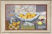 Набор для вышивки крестом  Апельсины, созревшие в теплых лучах солнца