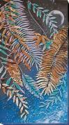 Набор для вышивки бисером на холсте Тропическая Ночь