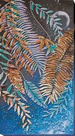 Набор для вышивки бисером на холсте Тропическая Ночь Абрис Арт АВ-777 - 486.00грн.