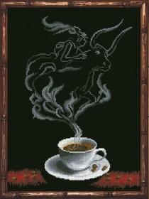 Набор для вышивки крестом Кофейная фантазия. Телец 1 Краса и творчiсть 30413 - 229.00грн.