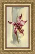 Набор для частичной вышивки крестом Лиловая орхидея