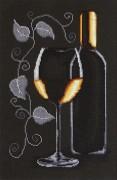 Набор для вышивки крестом Бутылка с вином