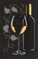 Набор для вышивки крестом Бутылка с вином Luca-S В2221