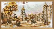 Набор для вышивки крестом Старый Киев
