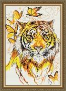 Набор для выкладки алмазной мозаикой Тигр
