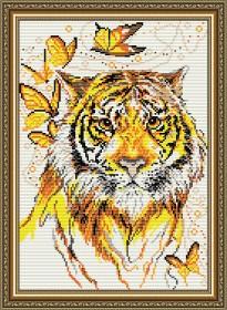Набор для выкладки алмазной техникой Тигр, , 400.00грн., АТ3023, Art Solo, Животные