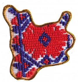 Набор - магнит для вышивки бисером Карта Украины Николаевская область Абрис Арт АМК-014 - 56.00грн.