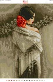 Схемы вышивки бисером на габарине Изабелла Вишиванка А2-185 - 110.00грн.