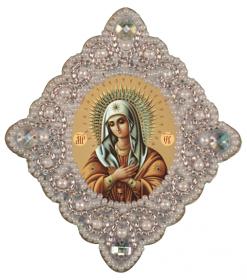 Набор для изготовления подвески Богородица Неувядаеый цвет Zoosapiens РВ3007 - 135.00грн.