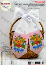 Бант для вышивки бисером (нитками) На праздник спаса  Biser-Art В24051