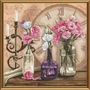 Набор для вышивки крестом Время цветов