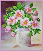 Набор для вышивки бисером Майская роза