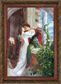 Набор для вышивки крестом Ромео и Джульетта по мотивам Фрэнка Бернарда Дикси Cristal Art ВТ-034 - 562.00грн.