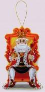 Набор для изготовления игрушки из фетра для вышивки бисером Царь