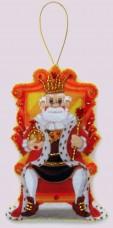 Набор для изготовления игрушки из фетра для вышивки бисером Царь Баттерфляй (Butterfly) F133