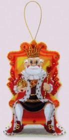 Набор для изготовления игрушки из фетра для вышивки бисером Царь, , 48.00грн., F133, Баттерфляй (Butterfly), Сказочные персонажи
