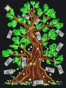 Схема для вышивки бисером на атласе Дерево достатка