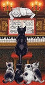 Набор для вышивки крестом Урок музыки Чарiвна мить (Чаривна мить) М-353 - 422.00грн.